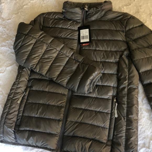 292e306ae5e TUMI down feather jacket. Women's medium. NWT